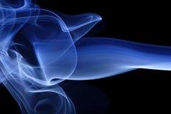 3蓝色烟 库存照片