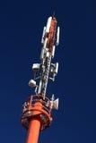 3蜂窝电话微波塔 免版税库存照片