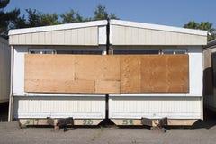 3辆拖车垃圾 免版税库存图片