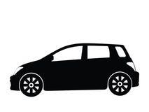 3辆汽车小的向量 库存照片