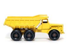 3辆汽车转储euclid老玩具卡车 库存图片