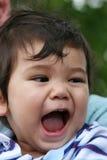 3逗人喜爱的男婴 免版税库存照片