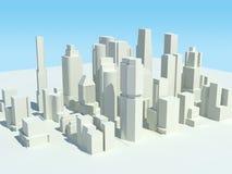 3都市风景 免版税图库摄影