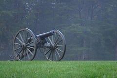 3门大炮内战 免版税图库摄影
