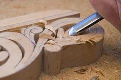 3雕刻的木头 免版税图库摄影