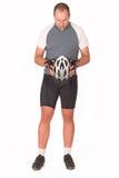 3骑自行车者 免版税库存照片