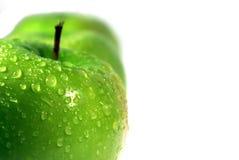 3 äpple - green Arkivbilder