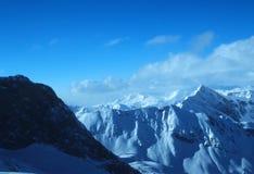 3 österrikiska alps royaltyfri bild