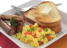3 śniadanie Zdjęcia Royalty Free