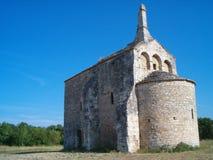 3 średniowiecznego provencal kościoła. zdjęcia royalty free