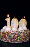 3 świętowaniu centenarian Zdjęcia Stock