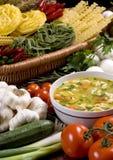 3 świeżej zupy Zdjęcia Stock