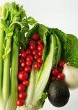 3 świeżych warzyw widok Obrazy Royalty Free