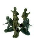 3 żołnierzy zabawka Obraz Royalty Free