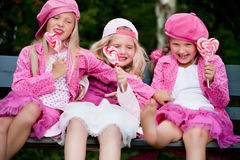 3 αδελφές playfull Στοκ Εικόνα