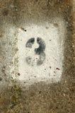 3 αριθμός Στοκ εικόνα με δικαίωμα ελεύθερης χρήσης