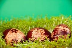 3 αυγά Πάσχας Στοκ φωτογραφίες με δικαίωμα ελεύθερης χρήσης