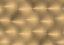 3 βουρτσισμένο μέταλλο Στοκ Φωτογραφίες
