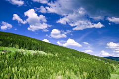 3 γιγαντιαία βουνά Στοκ εικόνα με δικαίωμα ελεύθερης χρήσης