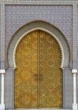 3 είσοδος Μαροκινός Στοκ Εικόνες