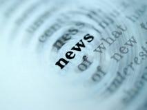 3 ειδήσεις Στοκ εικόνες με δικαίωμα ελεύθερης χρήσης
