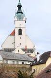 3 εκκλησίες krems αριθ. Στοκ φωτογραφία με δικαίωμα ελεύθερης χρήσης