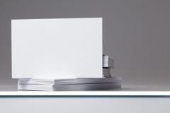3 επαγγελματικές κάρτες Στοκ φωτογραφίες με δικαίωμα ελεύθερης χρήσης