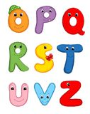3 επιστολές αλφάβητου Στοκ Εικόνες