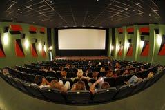 3 καθίσματα κινηματογράφω&nu Στοκ Εικόνα
