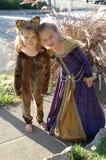 3 κορίτσια κοστουμιών Στοκ εικόνες με δικαίωμα ελεύθερης χρήσης