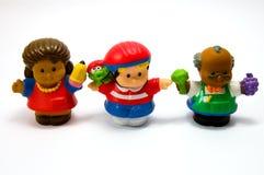 3 κούκλες τρεις Στοκ φωτογραφία με δικαίωμα ελεύθερης χρήσης