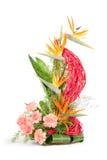 3 λουλούδια ανθοδεσμών Στοκ Φωτογραφία