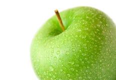 3 μήλα υγρά Στοκ Εικόνες