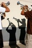 3 μουσικά Στοκ Φωτογραφία
