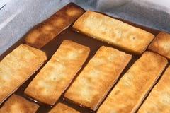 3 μπισκότα καραμέλας πέρα από  Στοκ φωτογραφίες με δικαίωμα ελεύθερης χρήσης