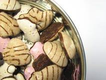 3 μπισκότα Χριστουγέννων Στοκ φωτογραφίες με δικαίωμα ελεύθερης χρήσης