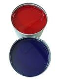 3 μπορούν να αντισταθμίσουν το χρώμα Στοκ εικόνα με δικαίωμα ελεύθερης χρήσης