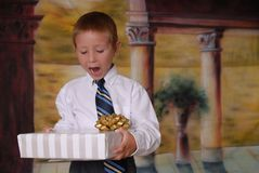 3 νεολαίες δώρων Στοκ Εικόνα