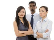 3 νεολαίες επιχειρηματιών Στοκ Εικόνα