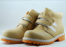 3 παπούτσια παιδιών Στοκ Εικόνες