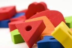 3 πολύχρωμα παιχνίδια Στοκ φωτογραφία με δικαίωμα ελεύθερης χρήσης