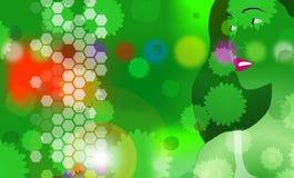 3 πράσινα προκαλούν ελεύθερη απεικόνιση δικαιώματος