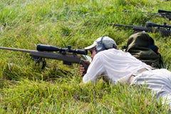 3-πυροβόλο όπλο ανταγωνισμός φιλανθρωπίας Στοκ φωτογραφία με δικαίωμα ελεύθερης χρήσης