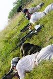 3-πυροβόλο όπλο ανταγωνισμός φιλανθρωπίας Στοκ Φωτογραφία