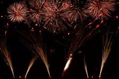 3 πυροτεχνήματα Στοκ Φωτογραφία