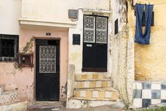 3 πόρτες Μαροκινός Στοκ εικόνα με δικαίωμα ελεύθερης χρήσης