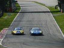 3 σειρές monza του Le Mans Στοκ εικόνα με δικαίωμα ελεύθερης χρήσης
