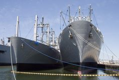 3 σκάφη φορτίου Στοκ Εικόνες