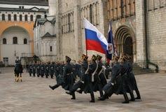 3 φρουρά Κρεμλίνο Μόσχα Στοκ Φωτογραφία