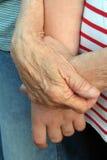 3 χέρια γενεάς Στοκ Εικόνα